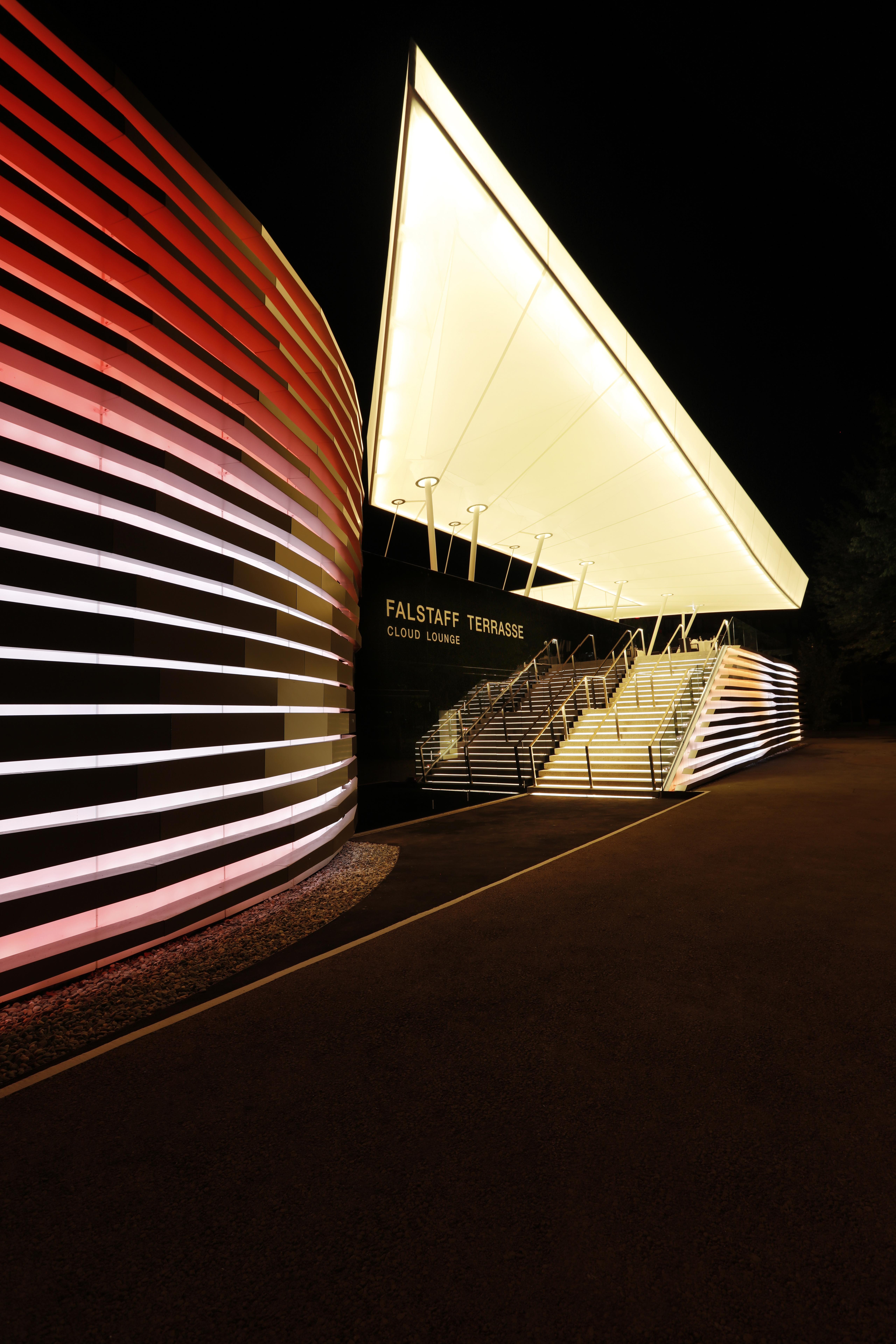 Leuchtende Decke casino bregenz ker handwerk bau