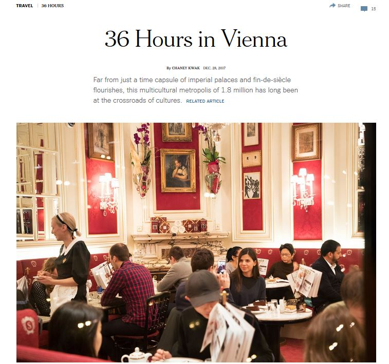 36 hours in Vienna